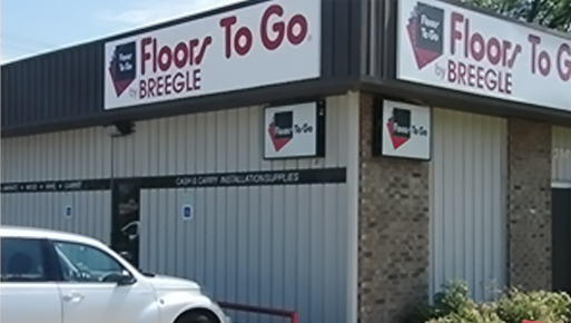 Floors To Go by Breegle Showroom Storefront in Wichita Falls, Texas